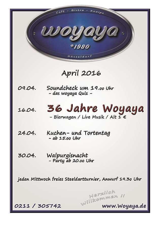 April Programm